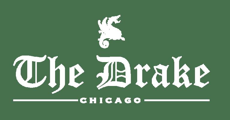 drake logo white