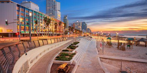 Tel Aviv, Israel Promenade